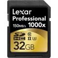 Lexar 32GB UHS2 SDHC 1000x Pro