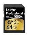 Lexar 64GB UHS2 SDXC 1000x Pro