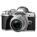Olympus OM-D E-M10 Mark III with 14-42mm R Lens Silver